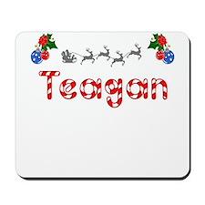 Teagan, Christmas Mousepad