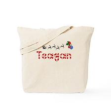 Teagan, Christmas Tote Bag