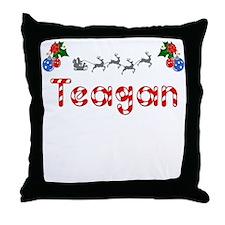 Teagan, Christmas Throw Pillow