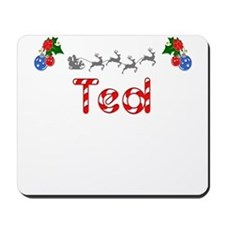 Ted, Christmas Mousepad