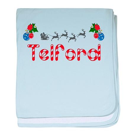 Telford, Christmas baby blanket