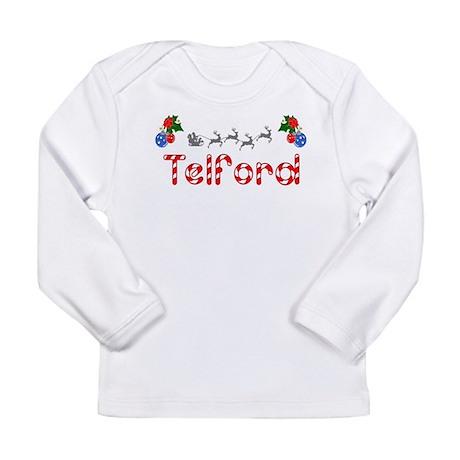 Telford, Christmas Long Sleeve Infant T-Shirt