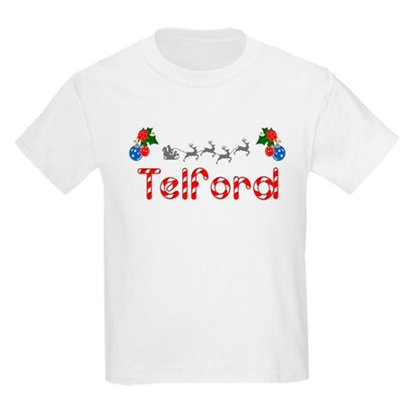 Telford, Christmas Kids Light T-Shirt