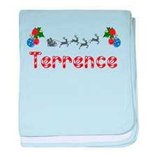 Terrence, Christmas baby blanket