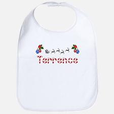 Terrence, Christmas Bib