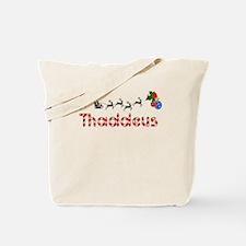 Thaddeus, Christmas Tote Bag