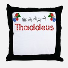 Thaddeus, Christmas Throw Pillow