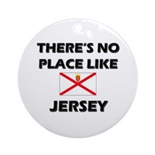There Is No Place Like Jersey Ornament (Round)