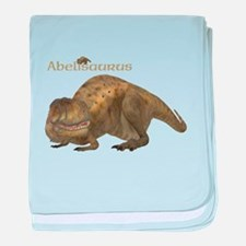 Abelisaurus baby blanket