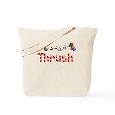 Thrush, Christmas Tote Bag