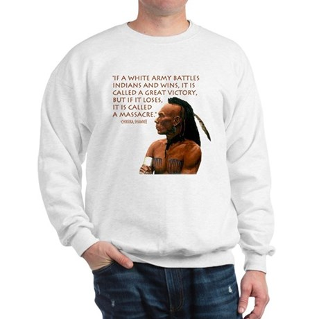 """Victory vs. Massacre"" Sweatshirt"