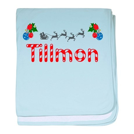 Tillmon, Christmas baby blanket