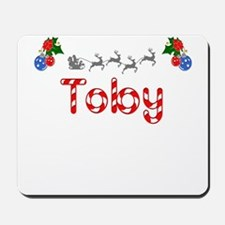 Toby, Christmas Mousepad