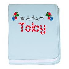 Toby, Christmas baby blanket