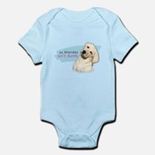 Dumb Blonde Infant Bodysuit