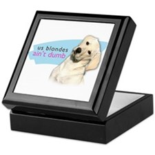 Dumb Blonde Keepsake Box