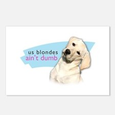 Dumb Blonde Postcards (Package of 8)