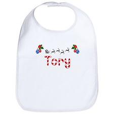 Tory, Christmas Bib
