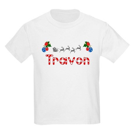 Travon, Christmas Kids Light T-Shirt