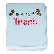 Trent, Christmas baby blanket