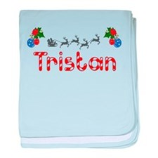 Tristan, Christmas baby blanket