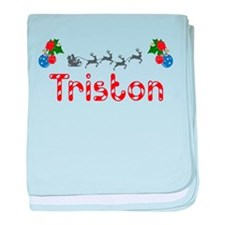 Triston, Christmas baby blanket