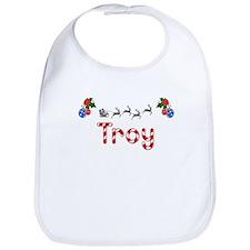 Troy, Christmas Bib
