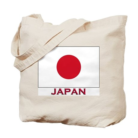 Flag of Japan Tote Bag