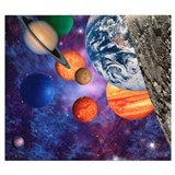Solar system Wrapped Canvas Art