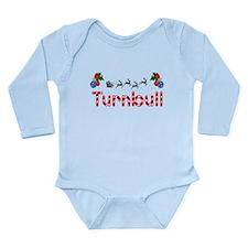 Turnbull, Christmas Long Sleeve Infant Bodysuit