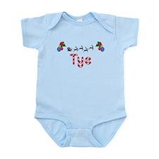 Tye, Christmas Infant Bodysuit