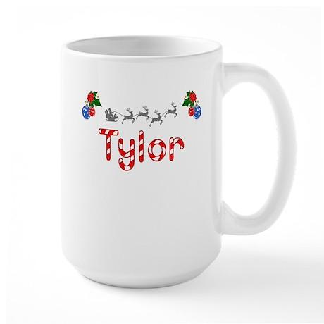 Tylor, Christmas Large Mug
