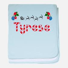 Tyrese, Christmas baby blanket