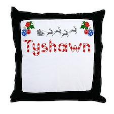 Tyshawn, Christmas Throw Pillow
