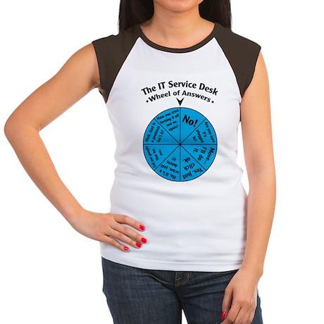 IT Wheel of Answers Women's Cap Sleeve T-Shirt