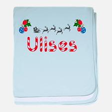 Ulises, Christmas baby blanket