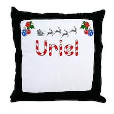 Uriel, Christmas Throw Pillow