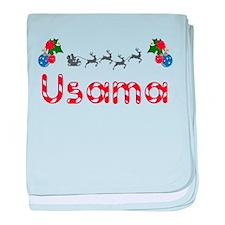 Usama, Christmas baby blanket