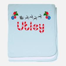 Utley, Christmas baby blanket