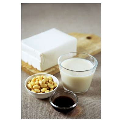 Soya products Poster