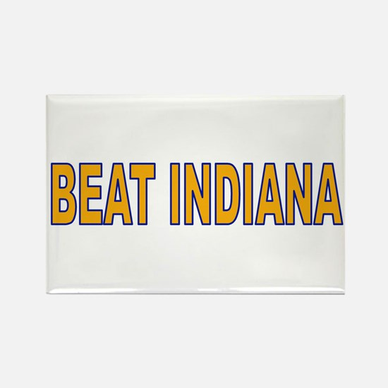 Funny Illinois fighting illini Rectangle Magnet