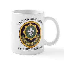 SECOND ARMORED CAVALRY REGIMENT Small Mug