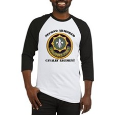 SECOND ARMORED CAVALRY REGIMENT Baseball Jersey