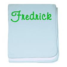 Fredrick Glitter Gel baby blanket