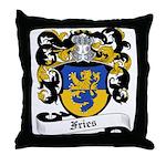 Fries Coat of Arms Throw Pillow