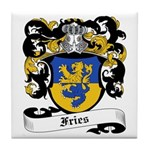 Fries Coat of Arms Tile Coaster