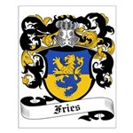 Fries Coat of Arms Small Poster