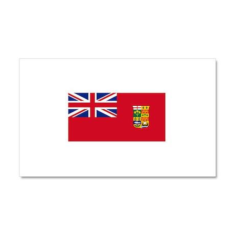 Flag of Canada 1868-1921 Car Magnet 20 x 12