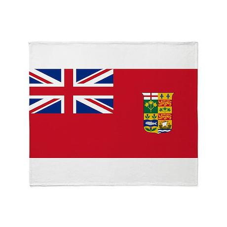 Flag of Canada 1868-1921 Throw Blanket