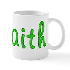 Faith Glitter Gel Mug